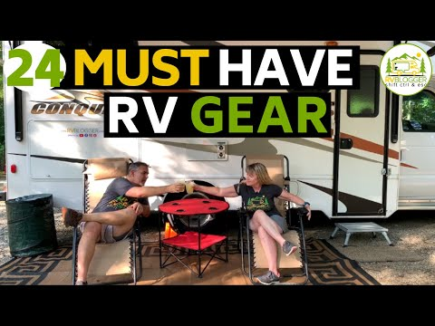 Essential Gear And Accessories For RV Beginners