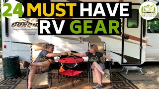 Essential Gear and Acceṡsories for RV Beginners