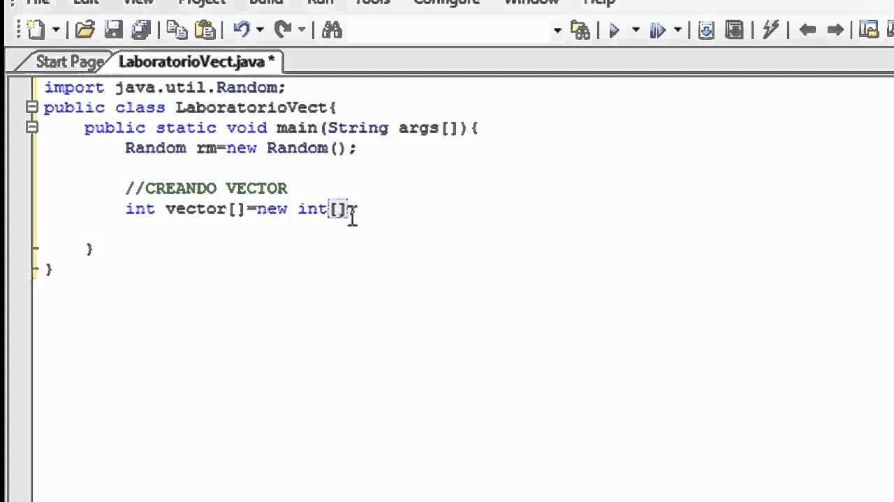 Tutorial Creacion Y Manejo De Vectores O Arrays En Java