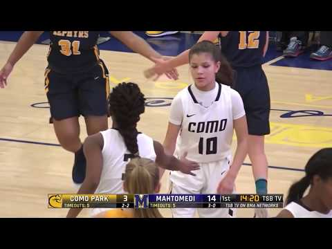High School Girls Basketball: Como Park vs. Mahtomedi