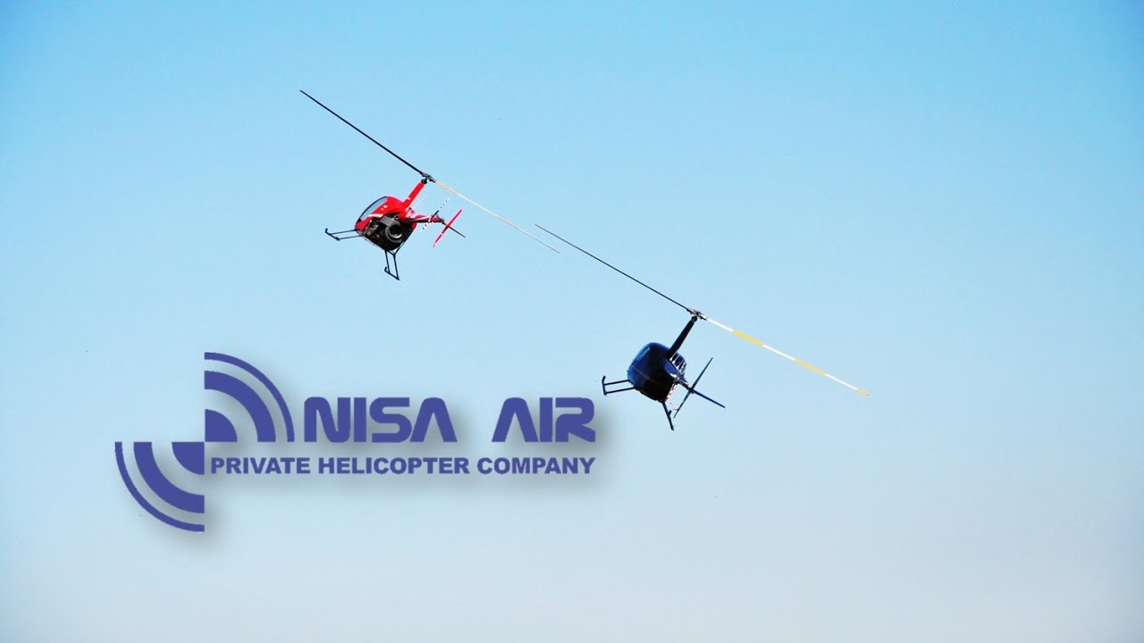 Nisa Air - Robinson Helicopters R22, R44, R66