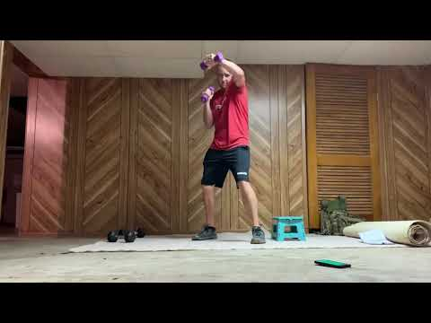 9 Round Hilliard/Grove City @ Home Workout #2 ��