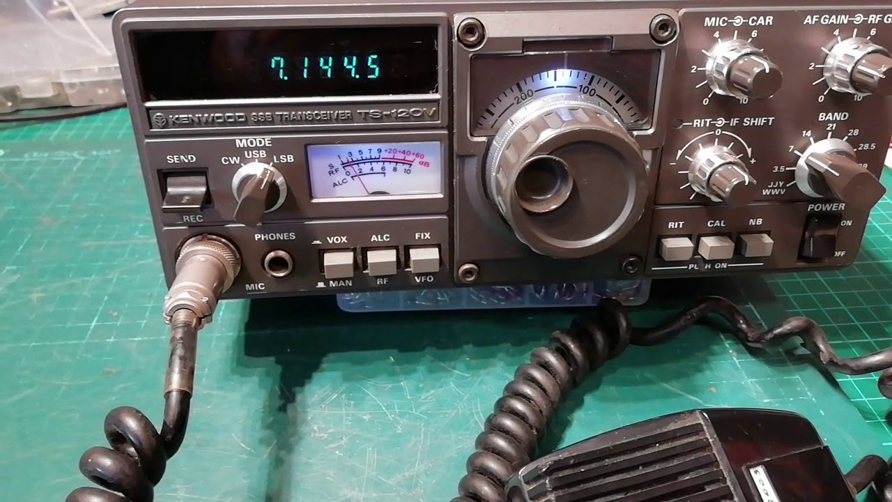 Kenwood TS-120V was deaf as a post, now it's not