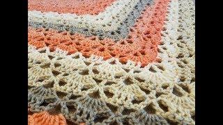 "The ""Cloister Shell Shawl"" Crochet Tutorial"