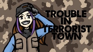 "Minx Plays | Trouble In Terrorist Town | ""ONLY TRAITORS TWERK"""