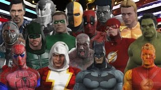 MARVEL AND DC SUPERHEROES ROYAL RUMBLE | WWE 2K17