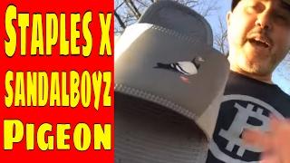 Staples x SANDALBOYZ Pigeon  Slides Unboxing