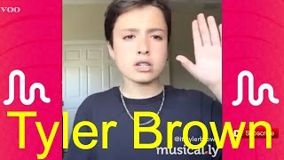 The Best Tyler Brown musical.ly Compilation 2016 | ItzTylerBrown