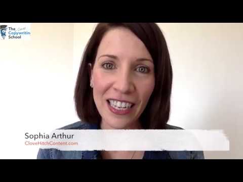 SOPHIA ARTHUR : The Clever Copywriting School