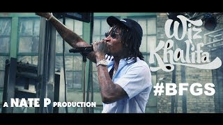 WIZ KHALIFA quotBAKE SALEquot amp quotROLL UPquot LIVE Shot By NatePTGOD