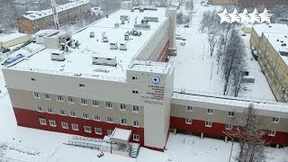 Reconstruction of the Emergency care hospital - 29th Winter Universiade 2019 in Krasnoyarsk