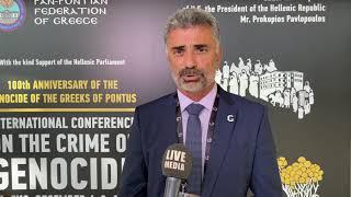 Γιώργος Βαρυθυμιάδης Προεδρος ΠΟΕ