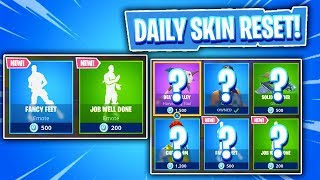 2 NEW EMOTES! Daily & Featured Item Shop In Fortnite: Battle Royale! (Skin Reset #207)