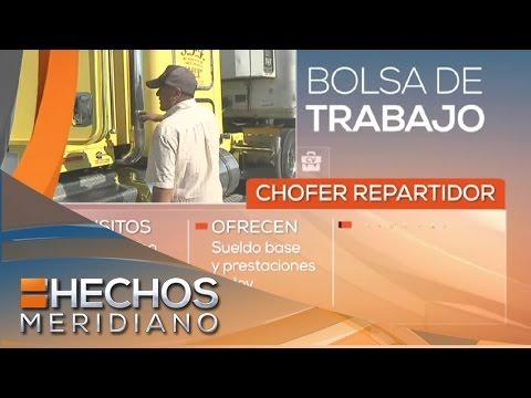 Solicitan chofer repartidor | Bolsa de trabajo