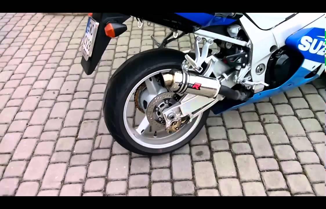 Suzuki GSX R 1000 Stock Exhaust Vs Dominator MotoGP EVO I