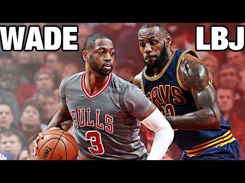 LeBron James vs Dwyane Wade | CLE@CHI | 12.02.2016