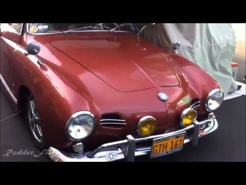 1956 VW Camping Karmann Ghia in its Nesting Environment