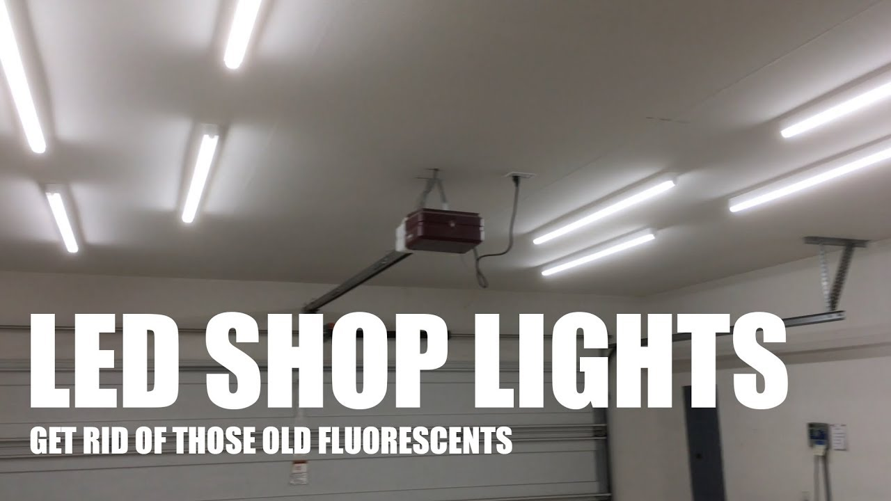 Upgrade your garage workshop lighting to leds for better youtube upgrade your garage workshop lighting to leds for better youtube videos arubaitofo Choice Image