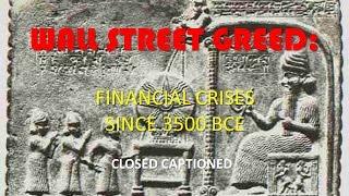 Financial Crises Since 3500 BCE (CC)