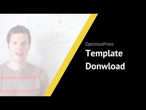 Free OptimizePress Template Download