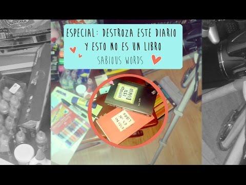 destroza-este-diario-#1-(wreck-this-journal)-&-esto-no-es-un-libro-(this-is-not-a-book)