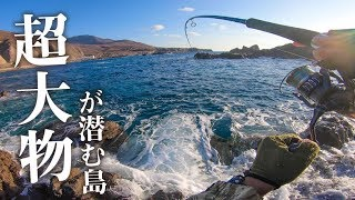 【北海道釣り旅】超大型根魚が釣れる?と噂の離島に乗り込んで磯釣りに挑戦!【奥尻島】#27
