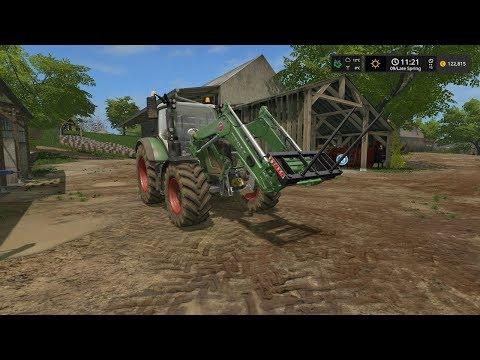 Farming Simulator 17  Timelapse #3 | Baltic Sea With seasons.