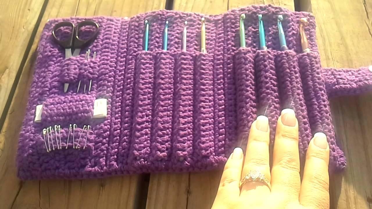 Crochet Hook Case Youtube