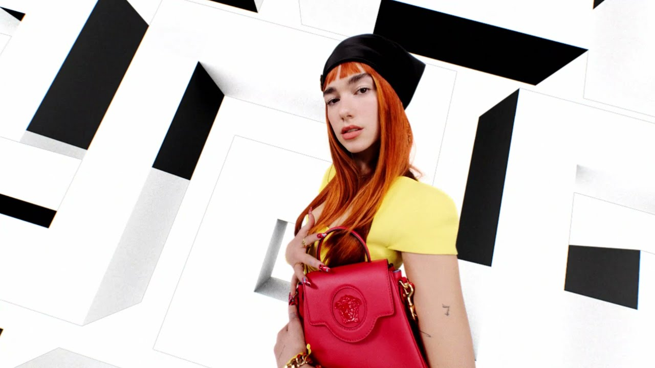 Versace Fall Winter 2021 | Advertising Campaign | Dua Lipa
