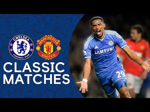 Chelsea 3-1 Man United   Samuel Eto'o Scores Premier League Hat-Trick   Classic Highlights