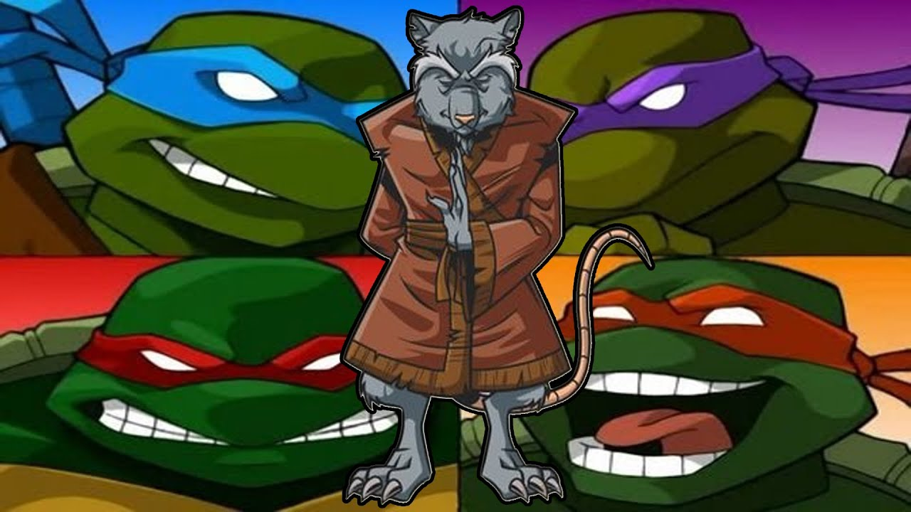 Master Mutant Ninja Rat Hd 1080p Tmnt 2003 Gameplay Youtube