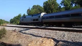 Amtrak 92 Departing Columbia, Sc