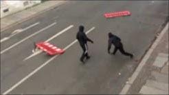 LE1212 Schenkendorfstraße Angriff auf Polizei Leipzig 12.12.2015 14.50 Uhr