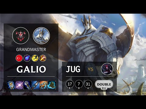 Galio Jungle vs Elise - TR Grandmaster Patch 10.16
