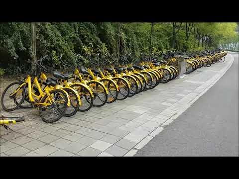 Bike ride at Beijing Olympic Park