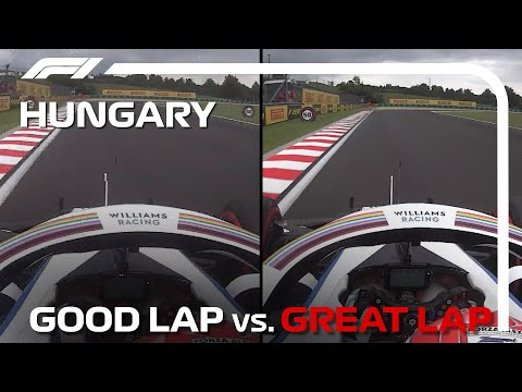 Good Lap vs. Great Lap, with George Russell   Hungarian Grand Prix