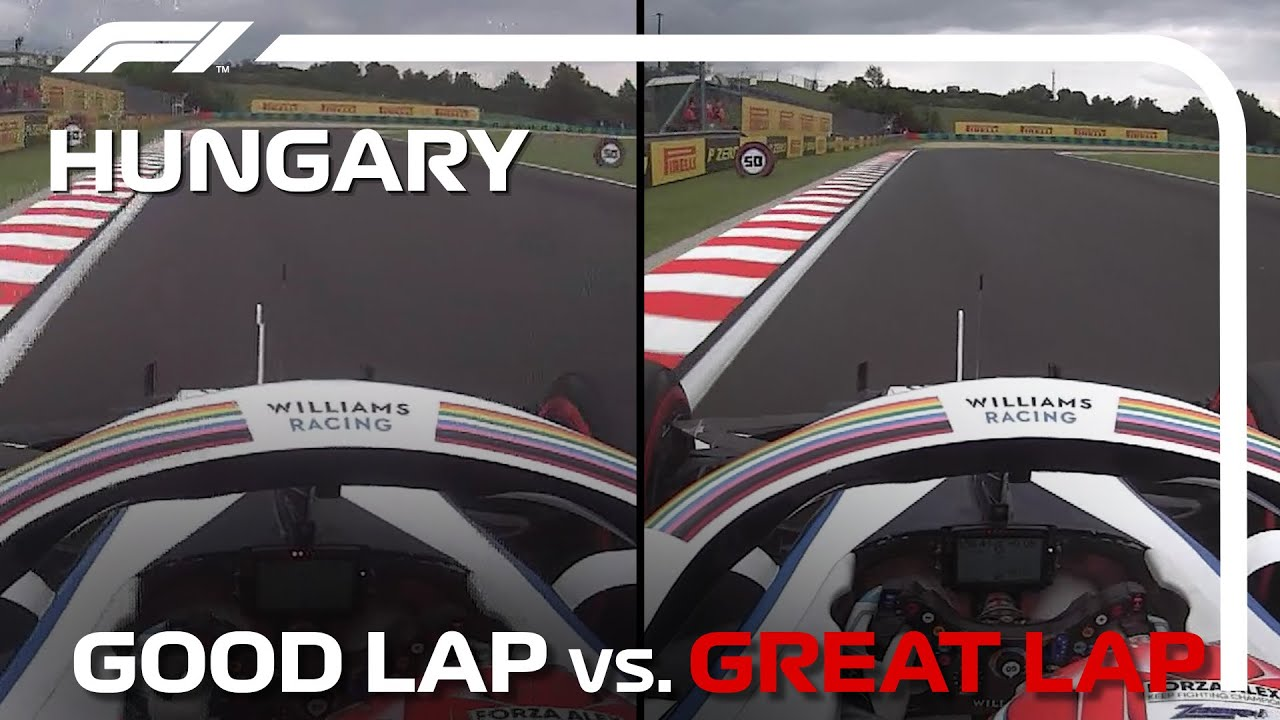 Good Lap vs. Great Lap, with George Russell | Hungarian Grand Prix
