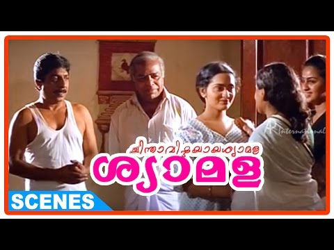 Chinthavishtayaya Shyamala Malayalam Movie - Thilakan convinces Sreenivasan to go to Sabarimala