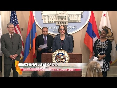 Friedman, California Legislature Commemorate 102nd Anniversary Of The Armenian Genocide