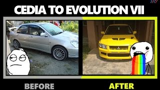 Mitsubishi Cedia to Evolution Conversion [FUGEN TV]