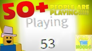 WE HAVE 50 CONCURRENT PLAYERS!!! | ROBLOX Making Money R$0 to R$50k