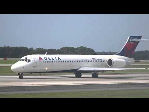 Delta Airbus A320 - Atlanta to Grand Cayman takeoff
