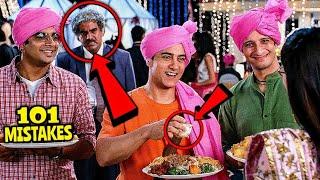 "101 Mistakes In 3 Idiots - Many Mistakes In ""3 Idiots"" Full Hindi Movie - Aamir Khan, Kareena Kapoor"