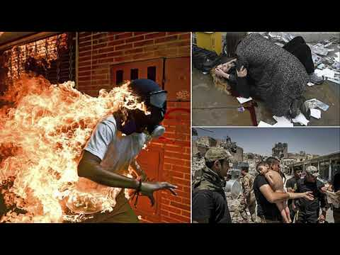 Nominations for the World Press Photo of the Year aw ard