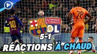 Les Lyonnais chargent l'arbitrage | Barça - OL : 5-1