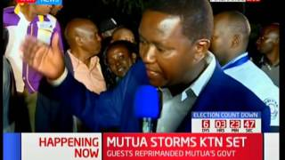 Machakos governor Dr Alfred Mutua clears his name on works done