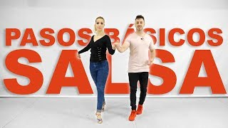 1. Pasos Básicos de Salsa | Aprende a bailar salsa con Alfonso y Mónica | Clases de salsa