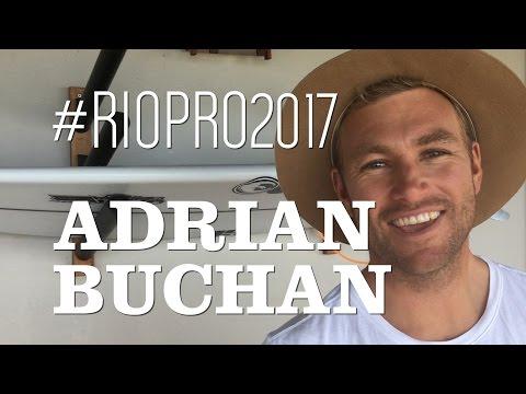 Adrian Buchan | Bastidores da Etapa Rio Pro 2017 | WSL Saquarema | Canal Off