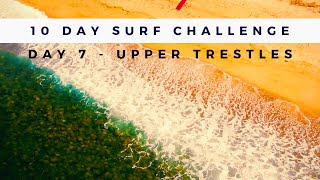 What Surfing in California is Really Like - Day 7 Surfing Trestles (Small & Glassy)