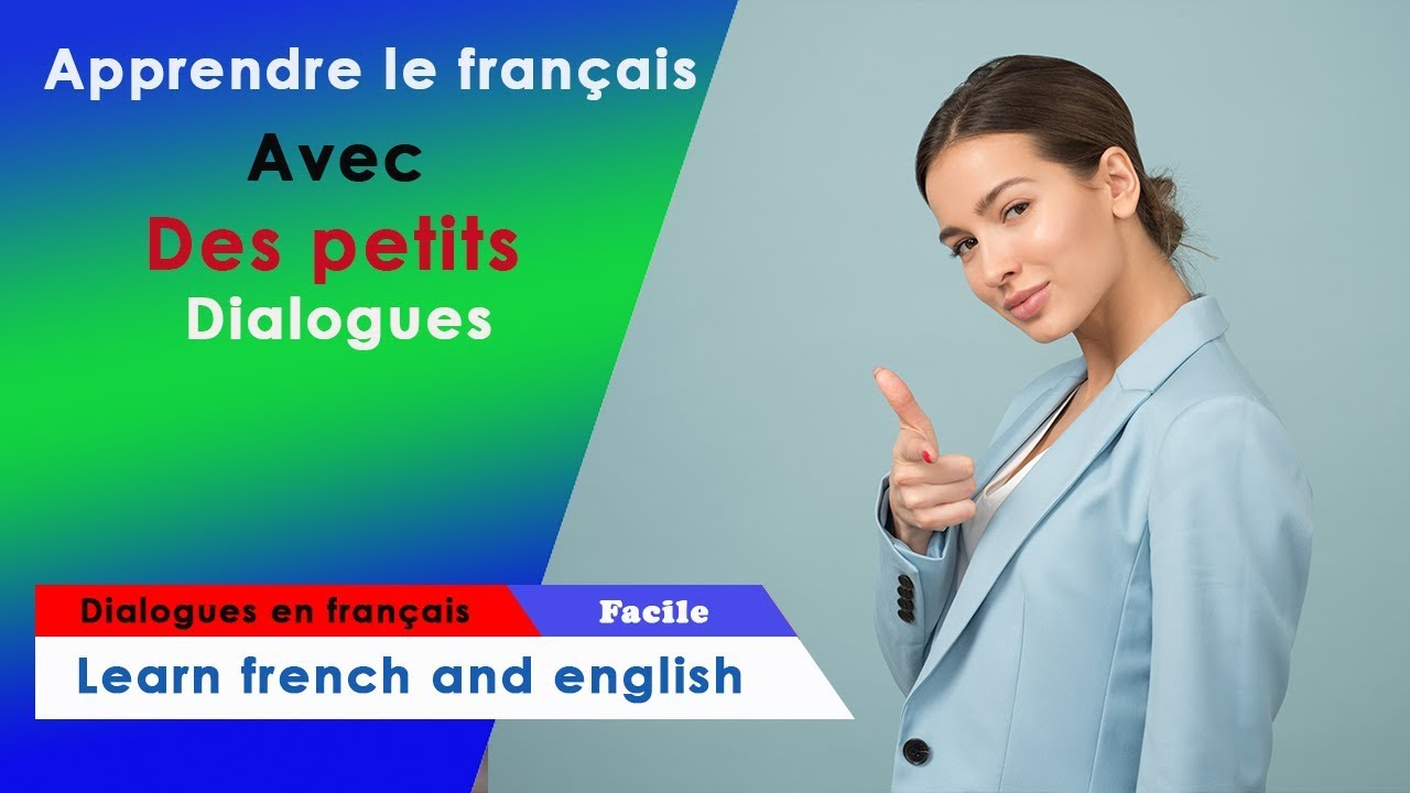 dialogues en fran ais learn french conversation youtube. Black Bedroom Furniture Sets. Home Design Ideas
